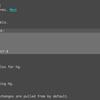 emacsからのmercurialの操作にmonkyを使ってみた