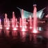 メリケンパークの「びよよん噴水」夜見に行くと、めっちゃ綺麗です。