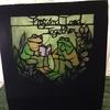 折り畳み額シリーズ:蛙1