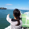 連休中日☆船で海の中道海浜公園へ