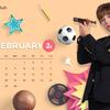 Wanna One IVY club 2月カレンダー