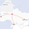ウクライナ旅行[80] ウクライナの全航空会社とフライトルート