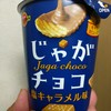 ブルボン じゃがチョコ 塩キャラメル味 食べてみました
