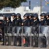 平成29年滋賀県警年頭視閲式