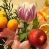 #30 お花の定期便、アレンジしました。アルストロメリアなど