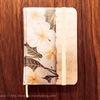 ハワイ土産文房具:モレスキン風プルメリア柄ノート