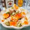【レシピ】アボカドとかにかまのスパイスマヨサラダ