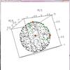 射影幾何的に円を使ってスプライン曲線