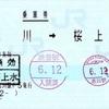 本日の使用切符:JR東日本 品川駅発行 品川→桜上水 乗車券
