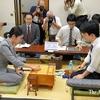 藤井聡太七段:里見女流四冠と初対局