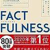 【書評】FACTFULNESS(ファクトフルネス) 10の思い込みを乗り越え、データを基に世界を正しく見る習慣