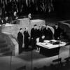 表裏の関係にあるサンフランシスコ平和条約と旧日米安保条約