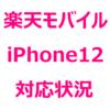 楽天モバイルで、iPhone12、iPhone12 Pro、iPhone12 miniは使える?使えない?通話、5G通信、パートナー回線SMS、eSIMはどうなのか。
