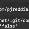git clone で fatal: could not set 'core.filemode' to 'false' が出たときは cd Desktop してからgitする