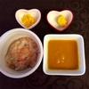 お野菜からの離乳食  [166日目  鯛と茄子とトマトのおじや]