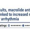 ACPJC:Etiology 高齢者ではマクロライド系抗菌薬は心室性不整脈増加とは関連しない