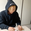 韓国にいる3人のサインする姿愛しい