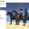 Horse Animset Pro 複雑な地形も何のその「乗馬」シミュレーション!美馬3頭の3Dモデル