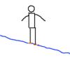 ずらしで滑る3 ずらしのポジション - コブ初心者、モーグル入門者のための、コブの滑り方(4)