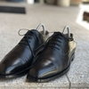購入から4年目の経年変化:Pediwear 黒ストレートチップの経年変化について語る
