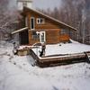 雪の日のミニチュア