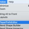PlayerPrefsを操作するエディタウィンドウを作成する