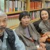大泉淵さん(大泉黒石の四女)とお孫さんの亜紀子さんが日芸を訪れた