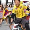 チベット人サイクリスト、中山道を行く!