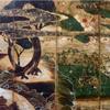 日月四季花鳥図屏風