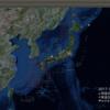 2017-10-11 地震の予測マップ (東進・西進を識別 九州霧島連山・新燃岳噴火に伴う速報3)