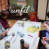 レッスンレポート)12/21五日市教室 手編み靴下はとっても暖かいです