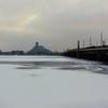 【写真12枚】氷の季節・2月のリガとダウガヴァ河の様子について