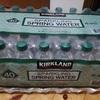 コストコ KIRKLAND 炭酸水「スパークリングスプリングウォーター」はコスパが高くておすすめです。