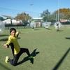 【朝活】バブルサッカーで繋がる輪。