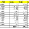 仮想通貨リップル(XRP)の保有状況