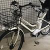 自転車の点検をしてもらいました