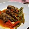 肉巻き野菜のトマトソース煮