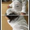 生後9ヶ月と12日☆今日もジェラピケ