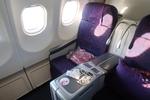 シンガポール弾丸旅行4  チャンギ空港SATSプレミアラウンジと中国国際航空ビジネスクラス搭乗記