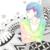 【イラスト】ゼンタングルと鉛筆と点描で描いた