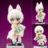 キューポッシュフレンズ『しろきつね-白狐-』可動フィギュア【コトブキヤ】より2019年6月発売予定♪