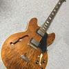 師匠でもある、恩人・F氏から譲り受けた宝物。人生(ほんの少し)落ちた時も、これだけは絶対手放せなかった。1974年製 - Gibson ES-335 TD -