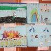 1年生:図工の作品展示