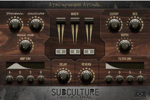 ダークでエクスぺリメンタルなFalcon 2用オーケストラ・ライブラリー、Subculture Orchesral