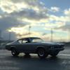'68 CHEVELLEに乗って、雨上がりの空。