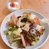 朝ご飯:パンでサラダ☆楽々、具だくさんで栄養たっぷり!!