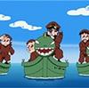 【アニメ】忍たま乱太郎 ドクタケ水軍の実力の段【雲泥の差】