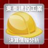 【決算情報分析】東亜建設工業(TOA CORPORATION、18850)