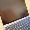 CRYSTAL VIEW NOTE PC FUNCTIONAL FILM MacBook 12インチに装着