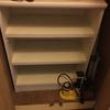 玄関のシューズボックスにメルカリ専用棚